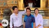မန္တလေးတိုင်းဝန်ကြီးချုပ် ဒေါက်တာ ဇော်မြင့်မောင်တို့ မိသားစု။