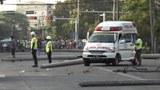 ရန်ကုန်မြို့၊ မြောက်ဥက္ကလာပမြို့နယ်မှာ ဆန္ဒပြတဲ့သူတွေကို စစ်တပ်နဲ့ ရဲတပ်ဖွဲ့က မတ်လ ၃ ရက်နေ့က အကြမ်းဖက်ပစ်ခတ်ဖြိုခွဲခဲ့စဥ်။