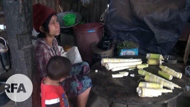 အာဏာသိမ်းမှုကြောင့် ဝမ်းရေးခက်လာတဲ့ ချင်းတောင်ပေါ်က မိသားစု