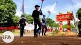 တနင်္သာရီတိုင်းဒေသကြီး၊ သရက်ချောင်းမြို့နယ်၊ ကနက်သီရိကျေးရွာမှာ စစ်အာဏာရှင် ဆန့်ကျင်ရေး ၂၀၂၁ မေ ၁၆ ရက်နေ့က ဆန္ဒပြခဲ့ကြစဉ်