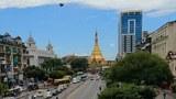 ရန်ကုန်မြို့လယ် ဆူးလေဘုရားလမ်းကို ၂၀၂၁ စက်တင်ဘာ ၇ ရက်နေ့က တွေ့ရစဥ်
