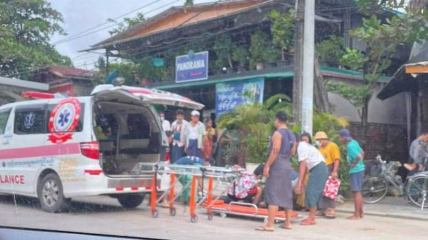 ဒေါပုံမြို့နယ်မှာ စစ်ကောင်စီသတင်းပေးလို့ စွပ်စွဲခံရသူ ပစ်သတ်ခံရ