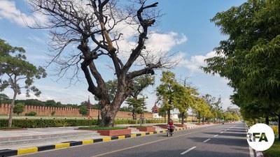 မန္တလေးမြို့ကို ၂၀၂၁ သြဂုတ်လက တွေ့ရစဥ်