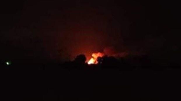 မြောင်မြို့နယ်က ကျောက်ရစ်ရွာ မီးရှို့ခံရ