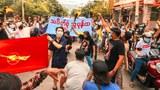 မန္တလေးမှာ ဆန္ဒပြသူတွေကို စစ်ကောင်စီက ကားနဲ့တိုက်ပြီး ဖမ်းဆီး