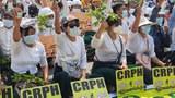 မန္တလေးမှာ ထိုင်သပိတ် အကြမ်းဖက်ဖြိုခွဲခံရ