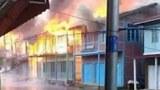 ထန်တလန်မှာ စစ်ကောင်စီနဲ့ CDF တို့ တိုက်ပွဲဖြစ်၊ အိမ် ၁၀ လုံးထက်မနည်း မီးလောင်ဆုံးရှုံး