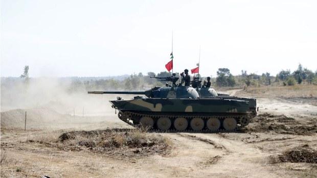 မြန်မာစစ်တပ် ယူကရိန်း စစ်လက်နက်တွေ ရရှိထား