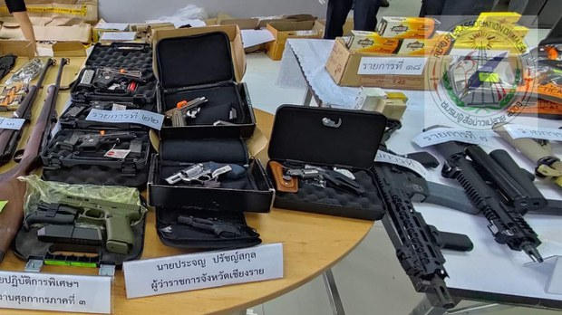 ထိုင်းမြန်မာနယ်စပ် လက်နက်မှောင်ခိုမှုတွေ စောင့်ကြည့်ဖို့ သတိပေးထား