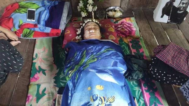 ကလေးမြို့မှာ သေနတ်သံနဲ့ဗုံးသံတွေကြောင့် မီးဖွားပြီးခါစ အမျိုးသမီးတစ်ဦး သေဆုံး